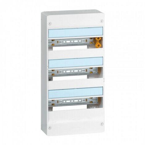 Coffret DRIVIA - 13 modules - 3 rangées - IP30 IK05 - Blanc RAL9003 - Legrand