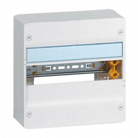 Coffret DRIVIA 18 modules 1 rangée IP30 IK05 Blanc RAL9003 (401221)