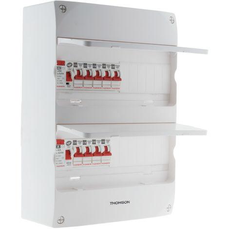 Coffret électrique 2 rangées 26 modules - Idéal T3 - Thomson