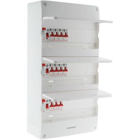 Coffret électrique 3 rangées 39 modules - Idéal T4 - Thomson