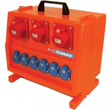 Coffret électrique chantier M-SVP 16/3-6/OF boitier plastique