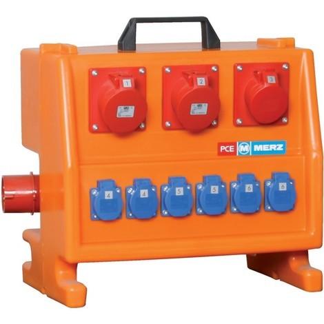 Coffret électrique chantier M-SVP 32/12-6/OF boitier plastique