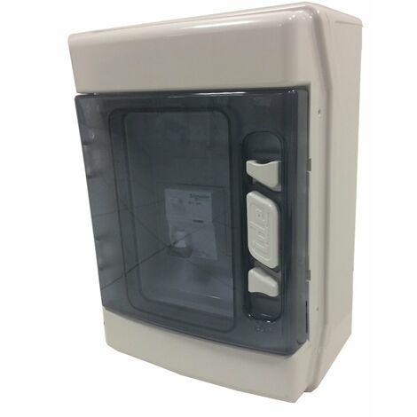 Coffret électrique disjoncteur et différentiel 16 A