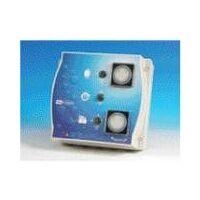 Coffret électrique ELEXIUM avec disjoncteur, filtration + 2 projecteurs + balai