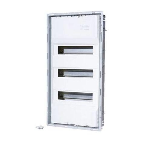 Coffret électrique encastré F-Tronic UPV36+6ST 7210030 Nombre de divisions = 42 Nbr de rangées = 3