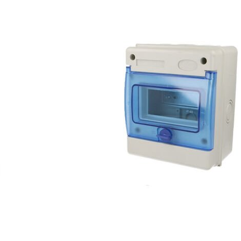 Coffret électrique étanche 6 modules IP65