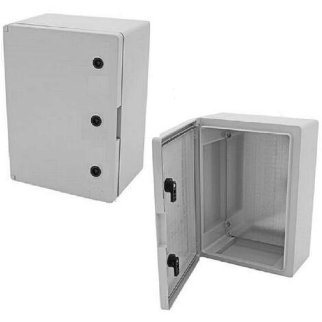 Coffret électrique étanche IP65 - 700 x 500 x 245 mm livré avec plaque de fond