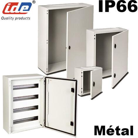 Coffret électrique étanche IP66 en métal IDE Argenta