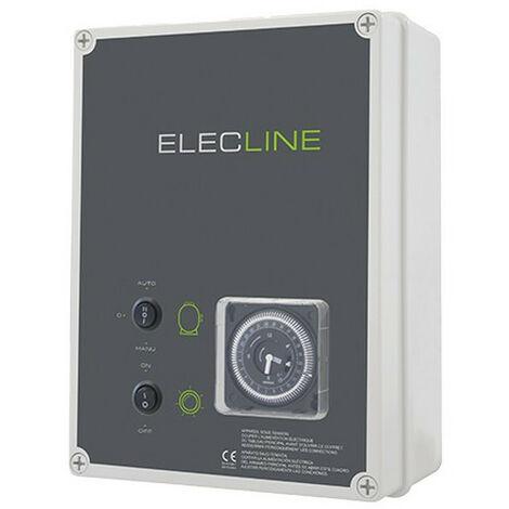 Coffret électrique filtration + éclairage - Choisir le coffret: Filtration + Transfo 100 VA