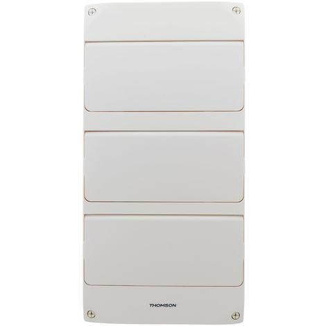 Coffret électrique nu à équiper 3 rangées 39 modules - Thomson