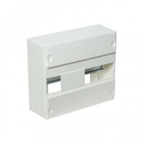 Coffret électrique nu blanc 13 modules