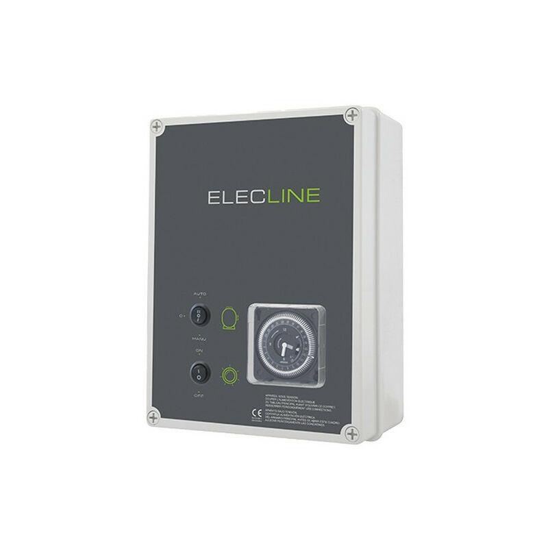 Coffret électrique filtration + éclairage - Coffret électrique: Filtration + Transfo 300 VA - WA CONCEPTION