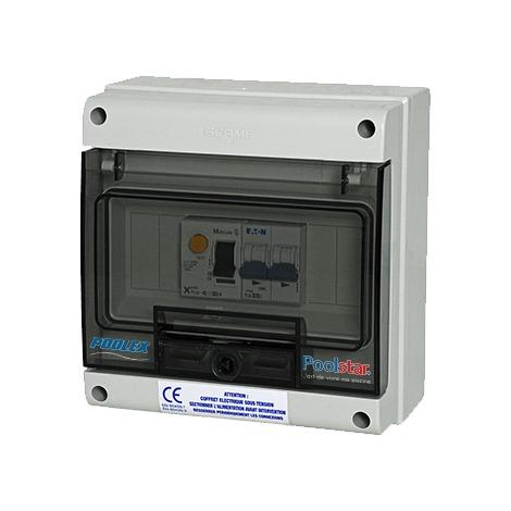 Coffret électrique Poolex 20A pour Pompe à chaleur Monophasée