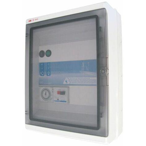 coffret electrique pour filtration + 1 projecteur 100w - pa 310 panorama - ccei