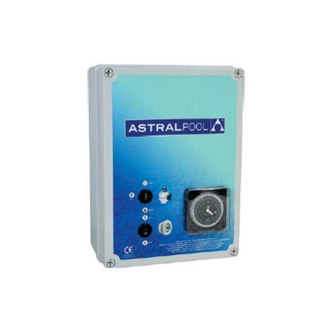 Coffret électrique pour filtration + 2 projecteurs 600 W 6 à 10 A