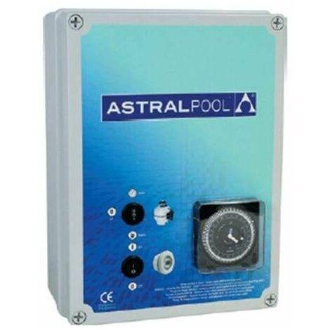 Coffret électrique, pour filtration et un projecteur, avec disjoncteur