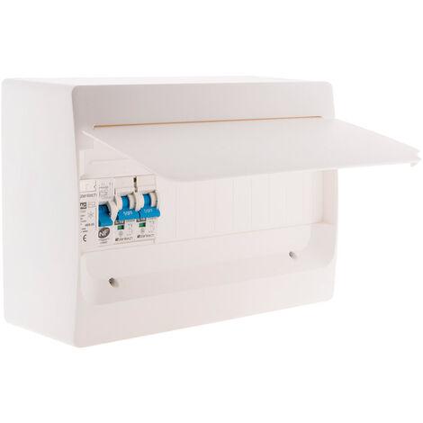 Coffret électrique pré-équipé 1 rangée 13 modules pour extension - Zenitech