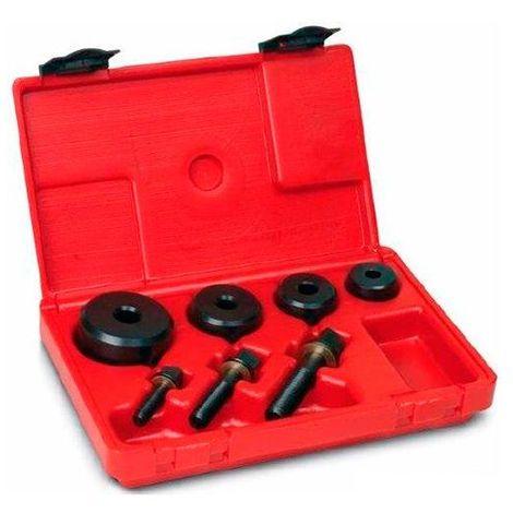 Coffret emporte-pièces à vis, tête hexagonale, D. 15 - 20 - 22 - 28 mm - 71501 - Piher