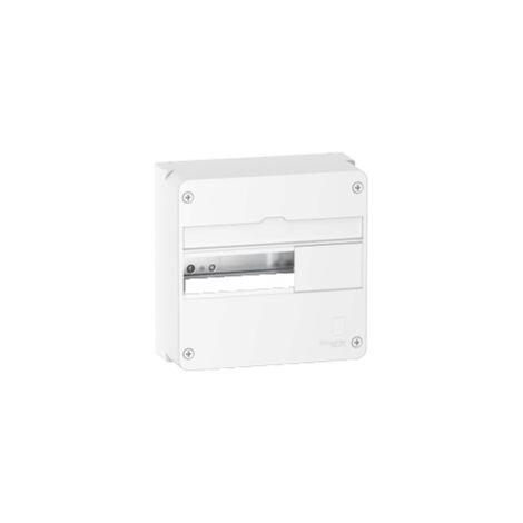 Coffret en saillie Resi9 - 1 rangée de 13 modules - Blanc RAL9003 - Schneider Electric