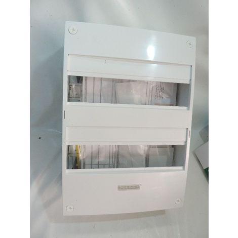 Coffret en saillie Resi9 - 2 rangées de 13 modules - Blanc RAL9003 - Schneider Electric