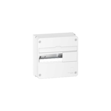 Coffret en saillie Resi9 - 4 rangées de 13 modules - Blanc RAL9003 - Schneider Electric