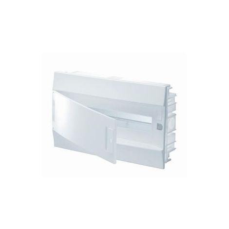 """main image of """"Coffret encastré 1x18 modules placo 430x250x107mm avec porte opaque 850° IP41 MISTRAL 41F ABB L611915"""""""