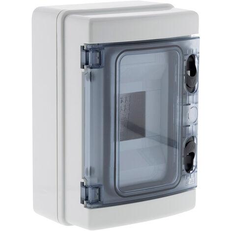 Coffret étanche IP65 4 modules livré avec accessoires - Zenitech