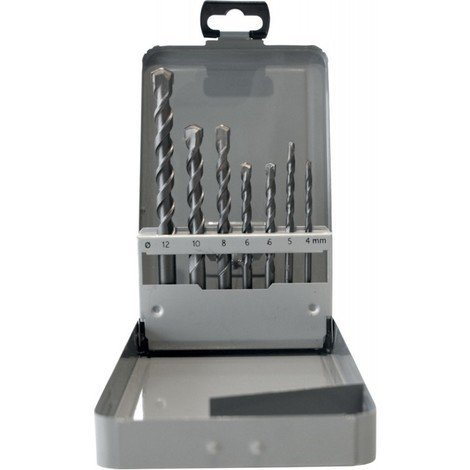 Coffret foret perforateur 7 pièces FORTIS