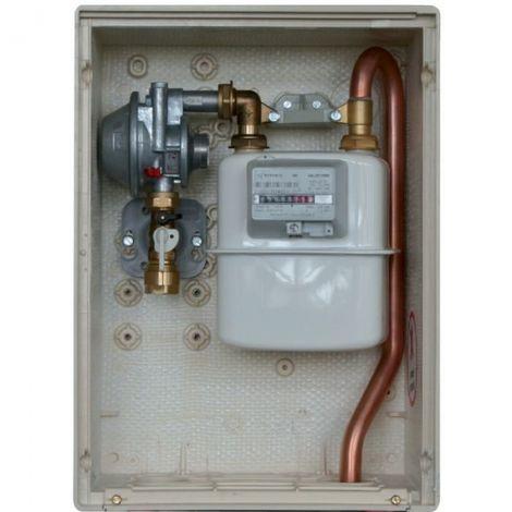 Coffret gaz s2300 sortie 21 mbar - Sélection Cazabox