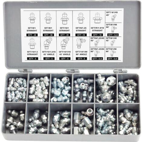 Coffret graisseurs 160 pieces - S10369