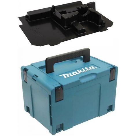 Coffret MAKPAC 3 + moulage DDF453 DDF458 DTD DHR202 DHR241 DGA504 DGA506 DGA508 DSS610 DJV180 DJV182 DLX MAKITA - plusieurs modèles disponibles