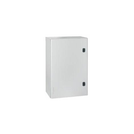 Coffret métal vertical Atlantic 600x400x200mm - RAL7035 - 035504 - Legrand