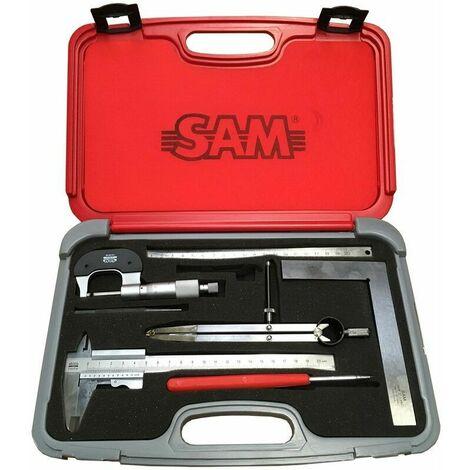 Coffret metrologie SAM OUTILLAGE 710-J7