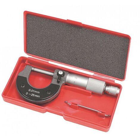 Coffret Micrometre Exterieur 0,01 A 25 Mm