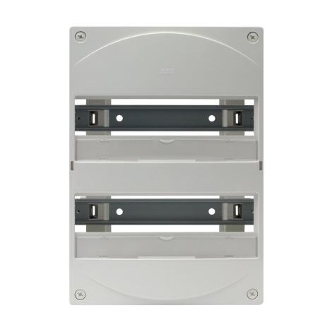 Coffret nu tableau électrique ABB Gale'O consumer unit 1 rangée de 13 modules