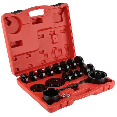 COFFRET OUTILLAGE 23Pcs Kit d'Outils Montage pour Démontage Roulements de Voitures à Traction avant Robustes