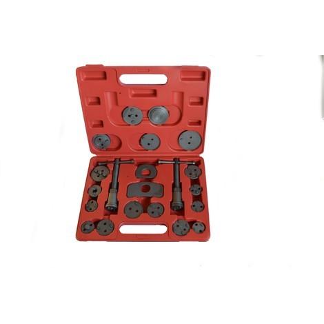 Coffret outils repousse piston étrier de frein 21 pièces