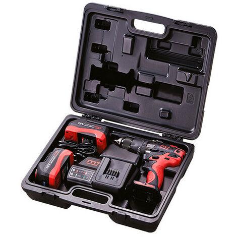 Coffret perceuse visseuse sans fil DD2050 - 18 V 5 Ah - Avec chargeur et 2 batteries - -