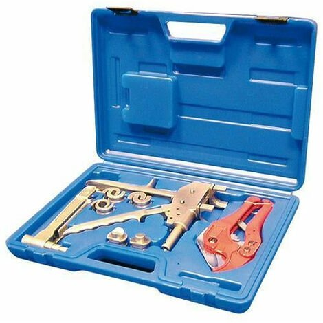Coffret Pince à sertir raccord glissement Ø 12 16 20 25 coupe tube outils atelier bricolage - Or