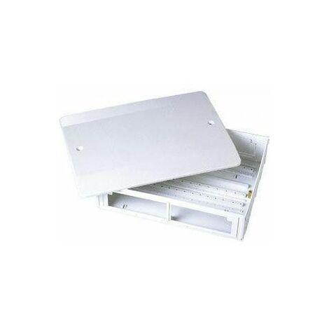 Coffret plastique pour collecteur 3/4 500x250x90