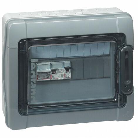 Coffret Plexo3 photovoltaïque IP65 pré équipée et pré câblé AC 230V~ 1 rangée de 12 modules (414020)