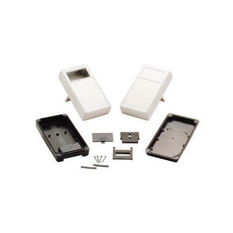 COFFRET PORTABLE - GRIS 180 X 100 X 43MM - ZONE D'AFFICHAGE SOLIDE STANDARD PLASTIC HOUSINGS G968GS