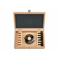 Coffret porte outils 40 mm + 7 jeux de fers toupie arbre 30 mm