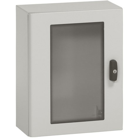 Coffret porte vitrée métal Atlantic - Acceptent tous les accessoires Atlantic