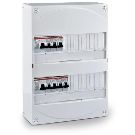 Coffret pré-câblé 2 rangées - HQ215796 / ABB