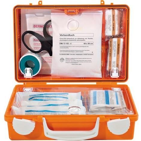 Coffret premiers secours, Modèle : Mallette de premiers secours QUICK, Dimensions 260 x 170 x 110 mm