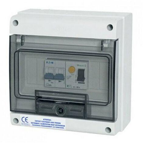 Coffret protection pompe à chaleur de piscine - Modèle: Protect 16 A mono