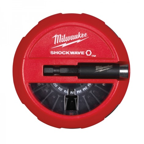 Coffret Puck 15 Embouts Shockwave MILWAUKEE - 4932430904