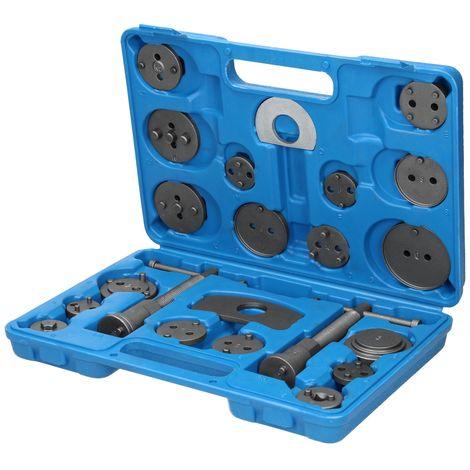 Coffret repousse piston d'étrier de frein universel kit outils voiture 22 pièces