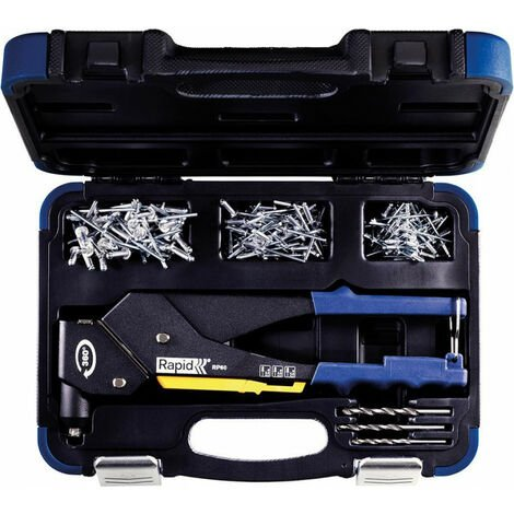 Coffret Rivets + Pince RP60 Mulit Kit Rapid (Par 5)